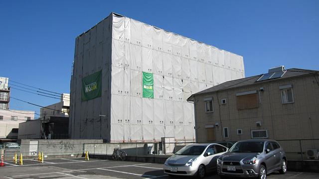 岡山市 中山第3ビル・中山第6ビル 解体工事2